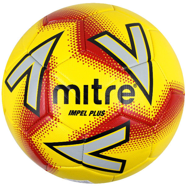 Mitre Impel Plus Football - YLW/RED