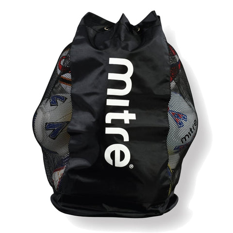 Mitre Tote Mesh Ball Carrier holds 12