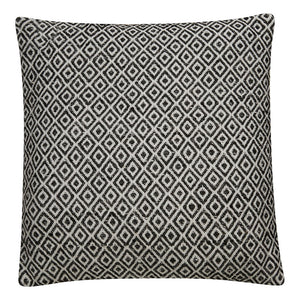 "Peykan Throw Pillow (Gardenia/Pewter - 22"" x 22"")"
