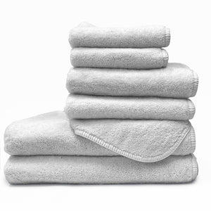 Heather Gray / XL Youth Bath Towel