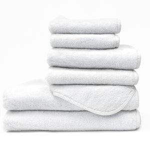 White / XL Youth Bath Towel