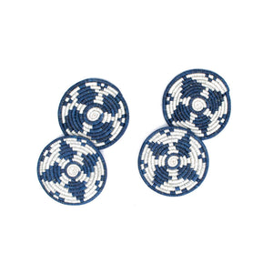 Blue Night Kwizera Coasters