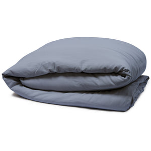 Relaxed Cotton Sateen Duvet Cover