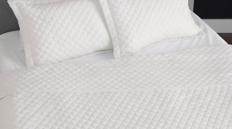 Lux Diamond Coverlet
