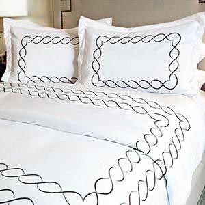 Eternal Collection Embroidered Duvet Cover