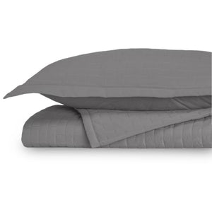 Eternal Madison Graphite Queen Coverlet