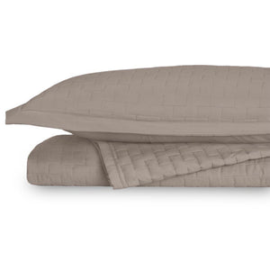 Eternal Madison Taupe King/California King Coverlet