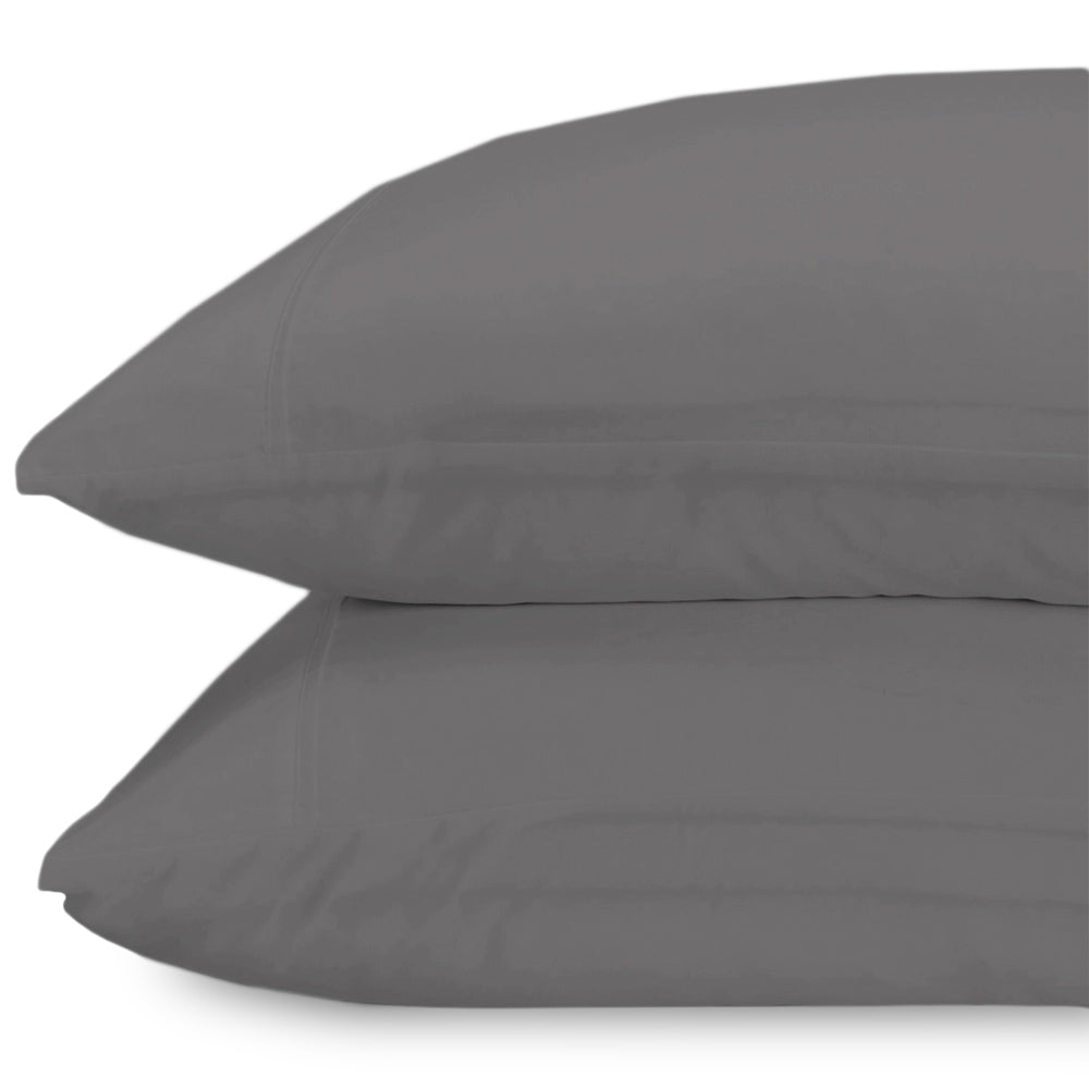 Standard Graphite Lux Pillowcase