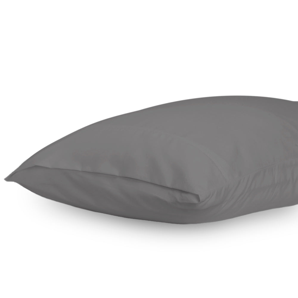 King Graphite Lux Pillowcase