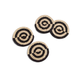 Pande Raffia Coasters - Set of 4