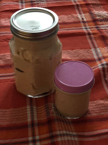 Family Size Sweet Potato Cheesecake  32 oz Jar