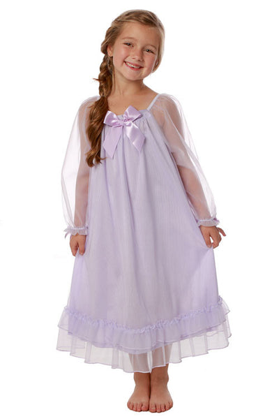 Laura Dare Little Girls Bowtastic Nightgown