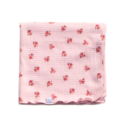 adore / pink / swaddle + headband