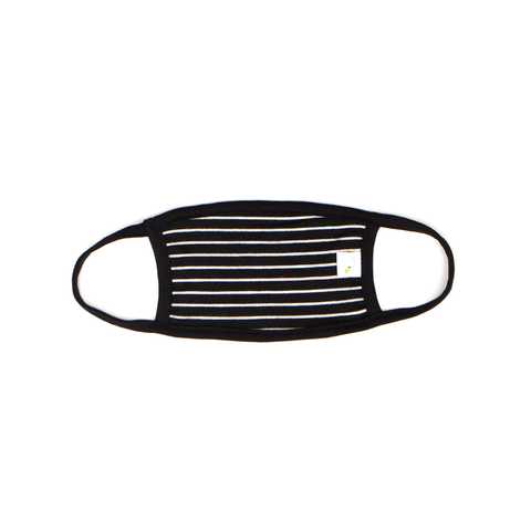 black stripe / kids face mask