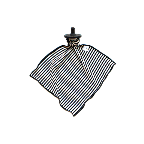 geo stripe / detachable goosie
