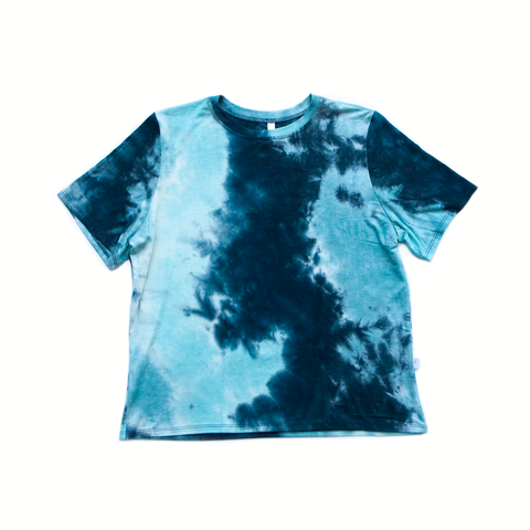 louie blue / short sleeve shirt