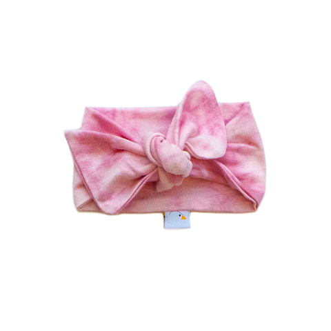 bubblegum / knotted headband