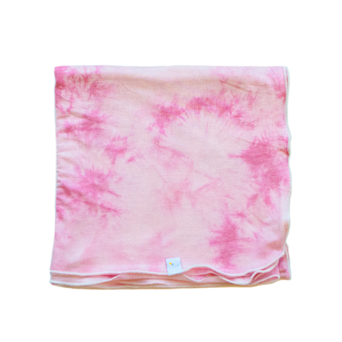 bubblegum swaddle + headband