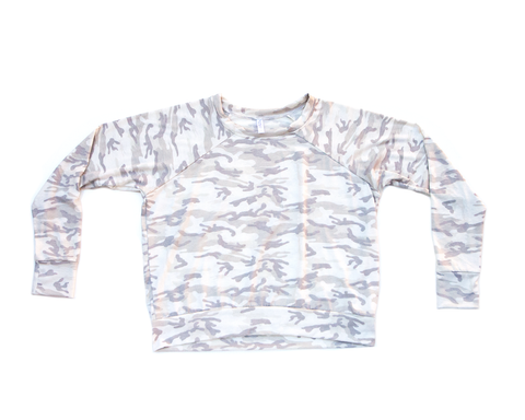 camo (cream/grey) / pullover shirt