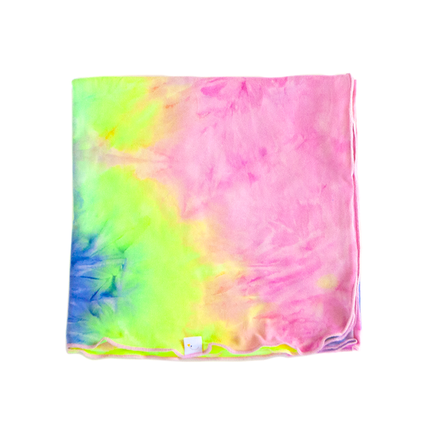 candyland swaddle + headband