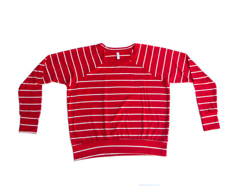 candy cane / pullover shirt