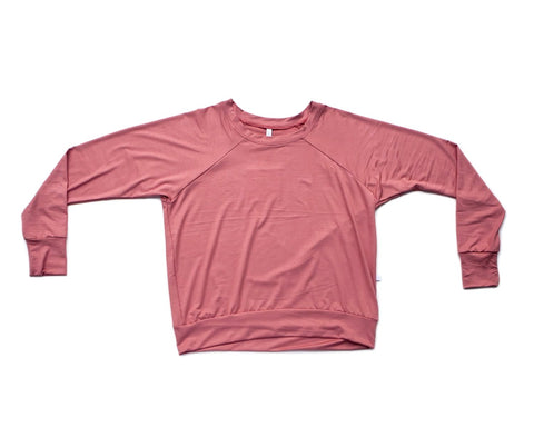 coral / pullover shirt