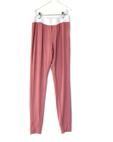 coral / women's lounge pants