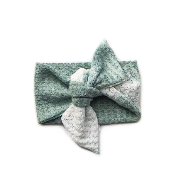 fresh mint swaddle + headband