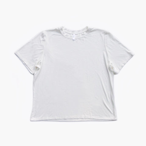 white / short sleeve shirt