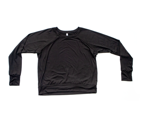 jet / brushed / pullover shirt