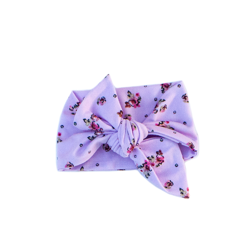 lilac fields / knotted headband