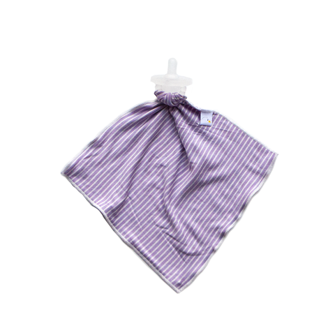 pin stripe / lavender / detachable goosie