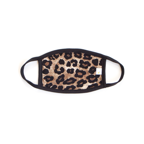 leopard / face mask