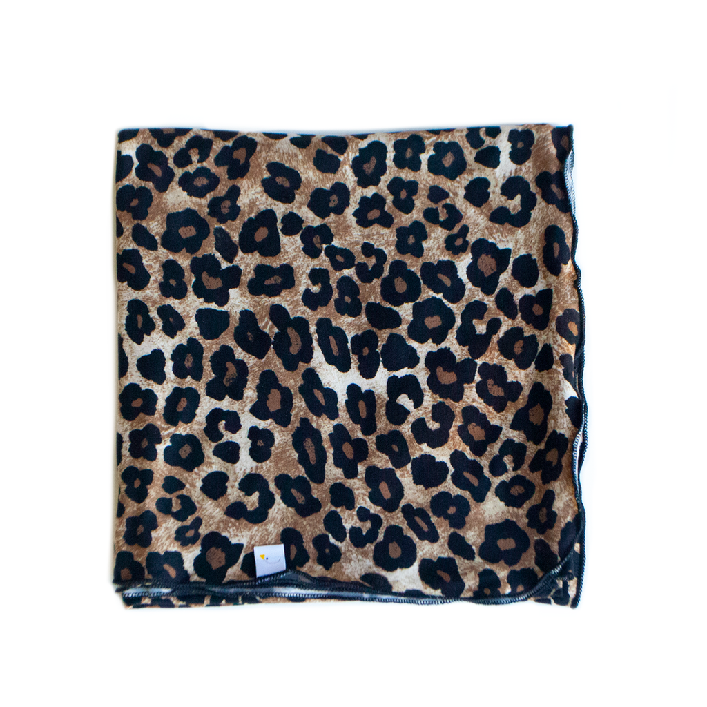 leopard / swaddle