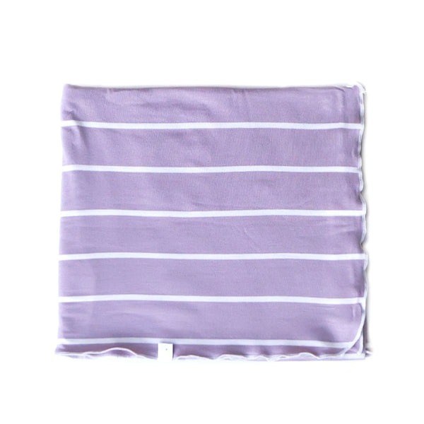 lilac / swaddle
