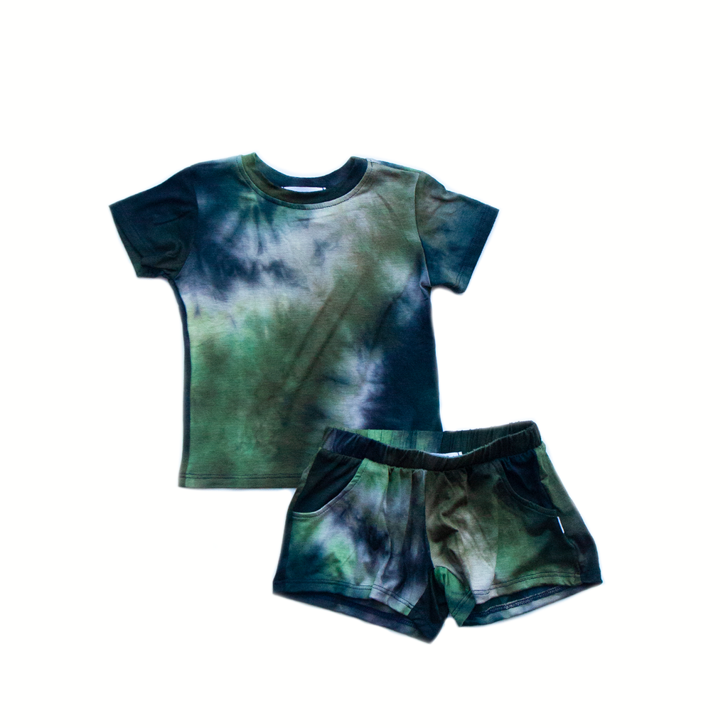 lily pad  / short set