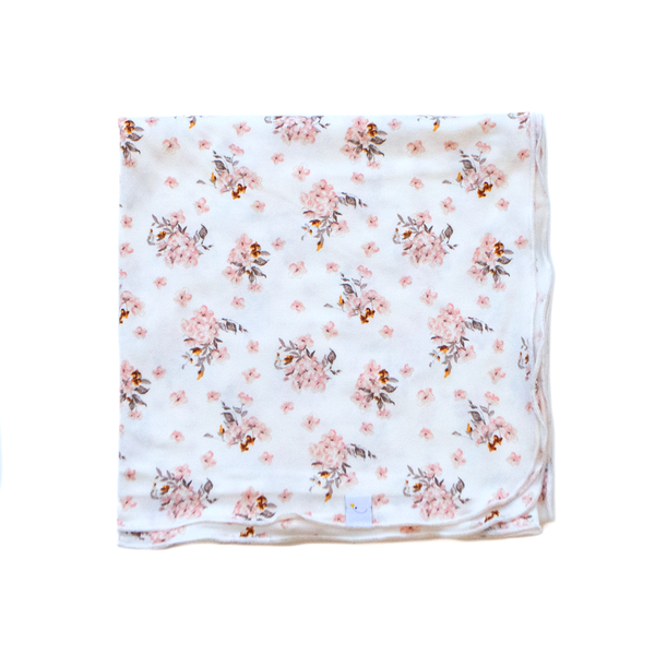jasmine swaddle + headband set
