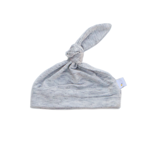 oatmeal / grey / swaddle + beanie set