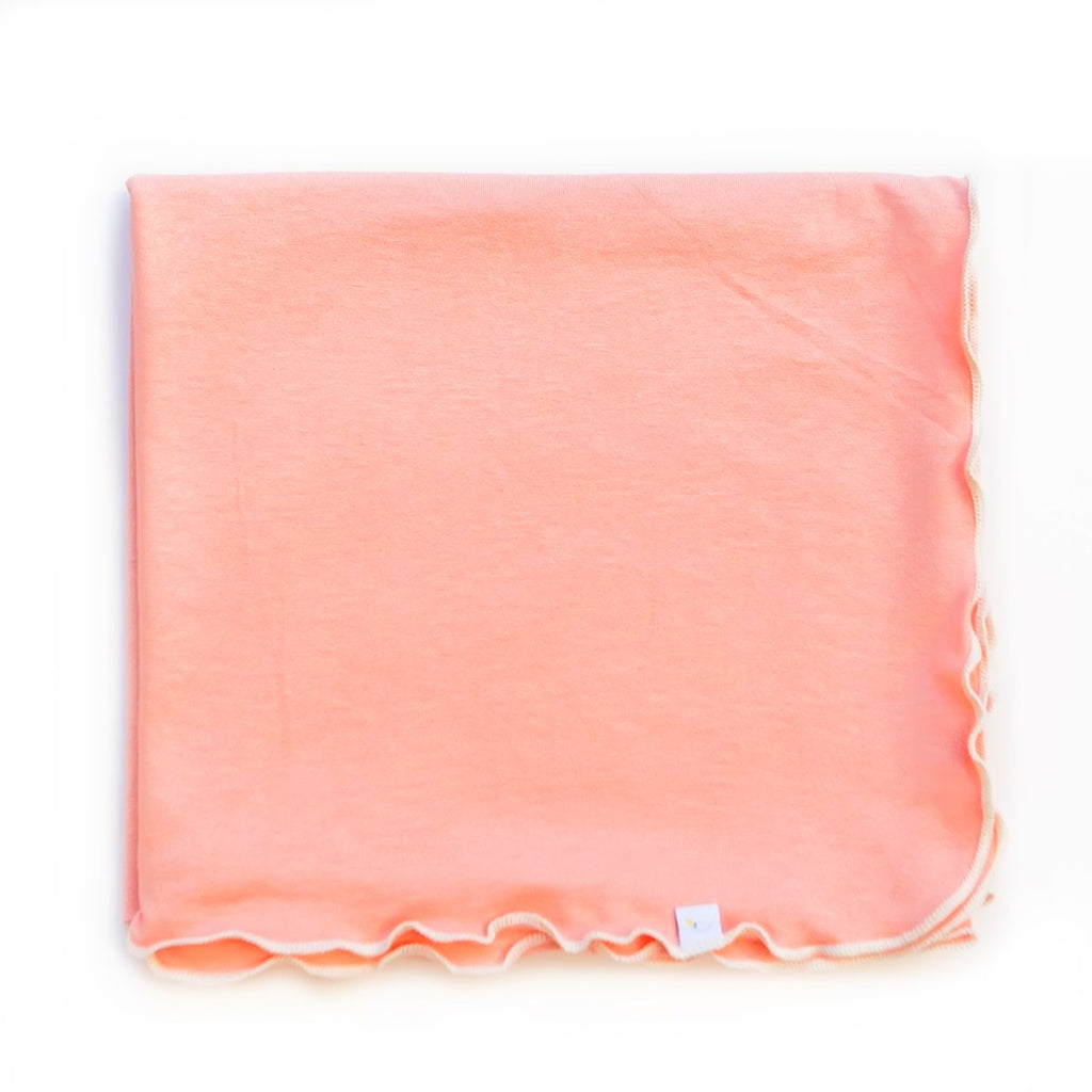 peach / swaddle