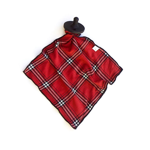 christmas plaid / detachable goosie