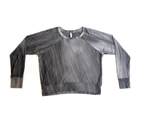 distressed / pullover shirt