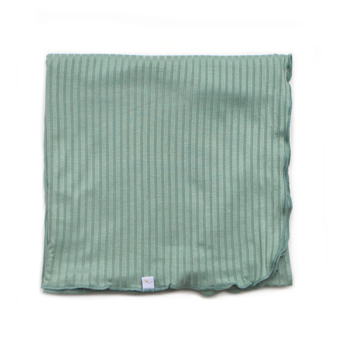 spearmint swaddle + beanie set