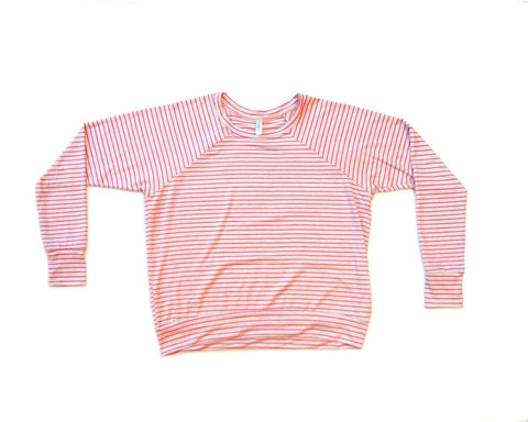 strawberries & cream / pullover shirt