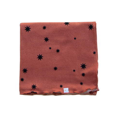 sunburst / rust / swaddle + headband set