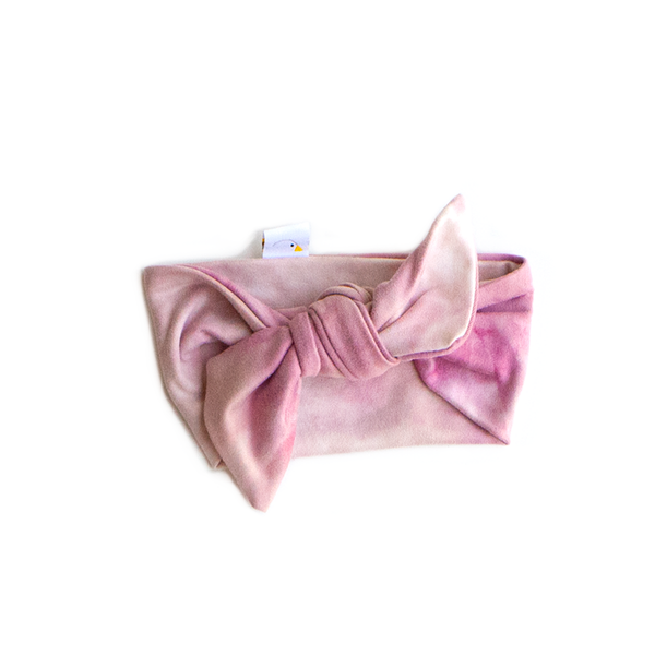 unicorn swaddle + headband