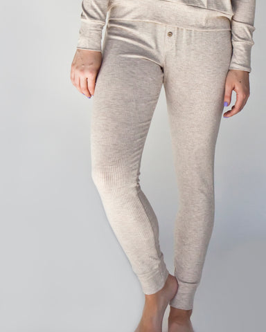 vanilla wafer / women's lounge pants