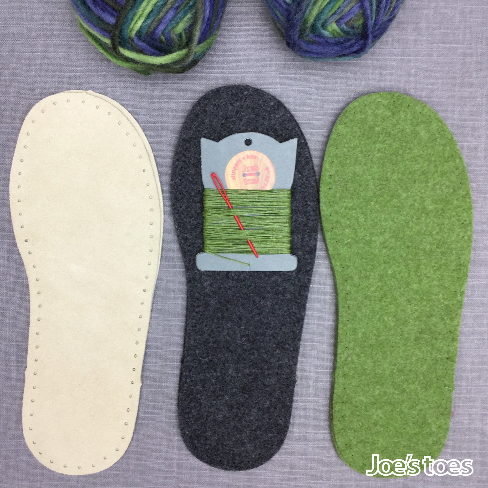 302be69bd2ef Joe s Toes Crossover Knitted Slipper Kit in U.S. sizes – Joe s Toes US