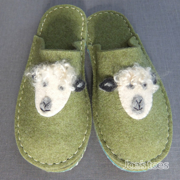 Joe's Toes Sheep Wool Felt slipper