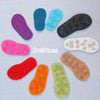 Baby and Children's size Thick Felt Soles with Latex Grip