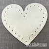 Joe's Toes Heart Shape Sew On Patches